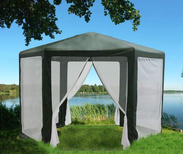 шатер для отдыха с москитной сеткой фото