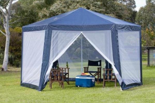 шатер для отдыха с москитной сеткой фото 10