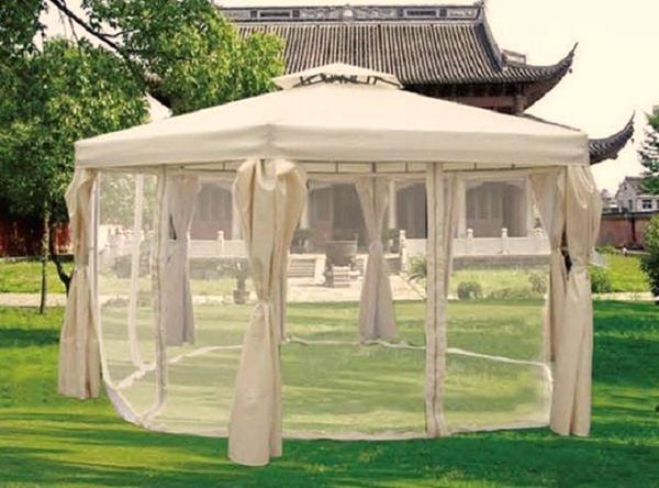 шатер для отдыха с москитной сеткой фото 8