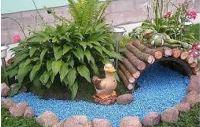декоративный мостик для сада своими руками фото
