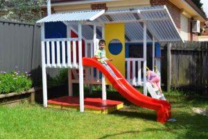 детский домик фото 30
