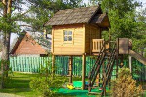 детский домик фото 32
