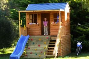 детский домик фото 44