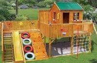 домик для детей на даче своими руками