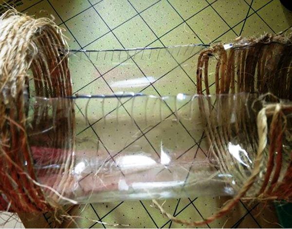 поделки из бутылок фото 11