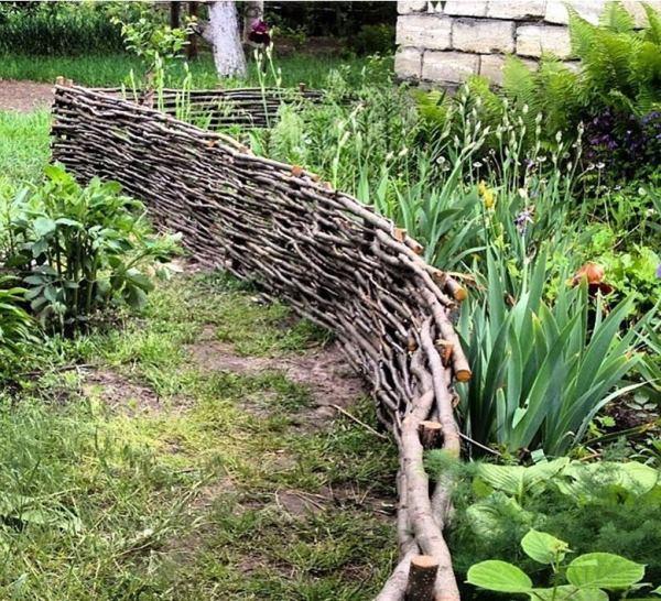 забор для палисадника фото 11