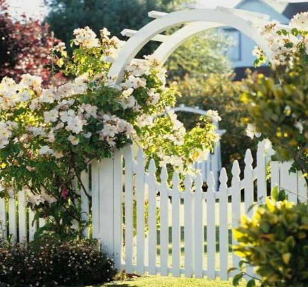 забор для палисадника фото 13