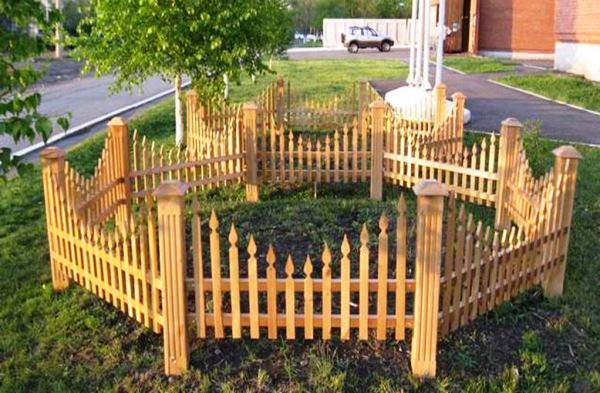 забор для палисадника фото 7