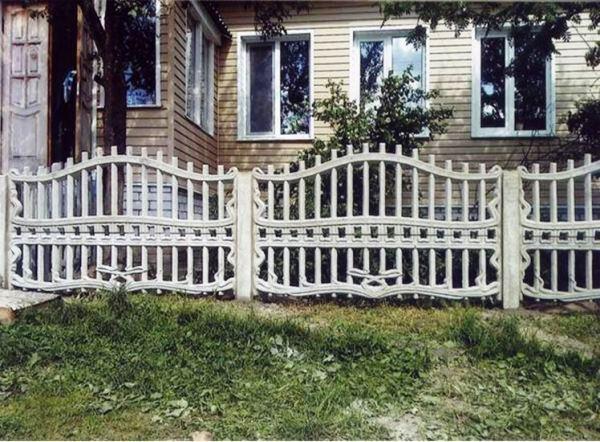 забор для палисадника фото 8