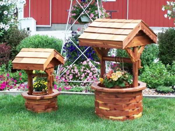 деревянный колодец фото 11