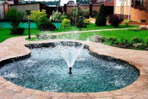 фонтан на даче фото 7