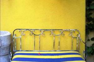 скамейки кованые фото 6