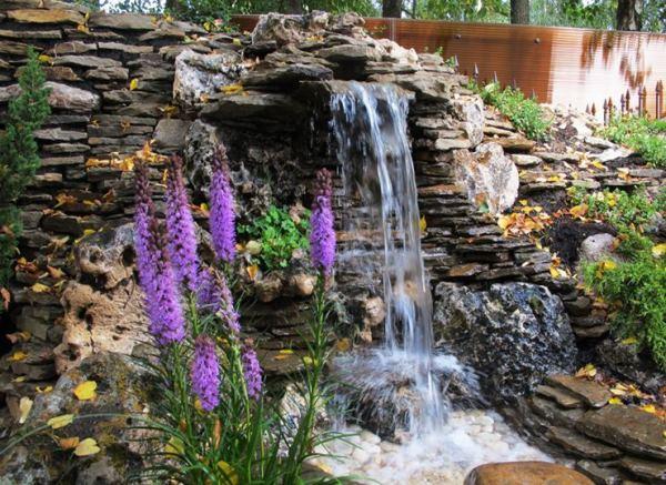 водопад на даче фото 5