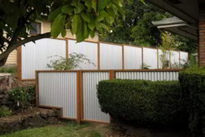 забор из профнастила фото 27