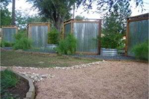 забор из профнастила фото 31