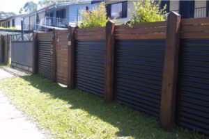 забор из профнастила фото 55