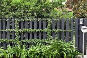 забор из штакетника фото 11