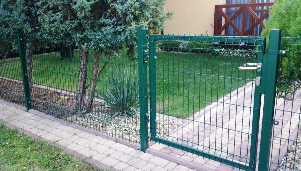 забор из сварной сетки с полимерным покрытием фото 7