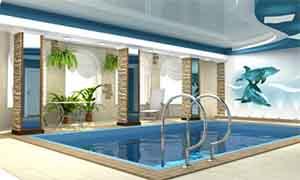 Фото бассейна в доме