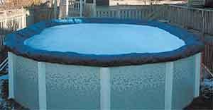 Укрытие бассейна на зиму