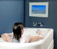 влагостойкий телевизор для ванной