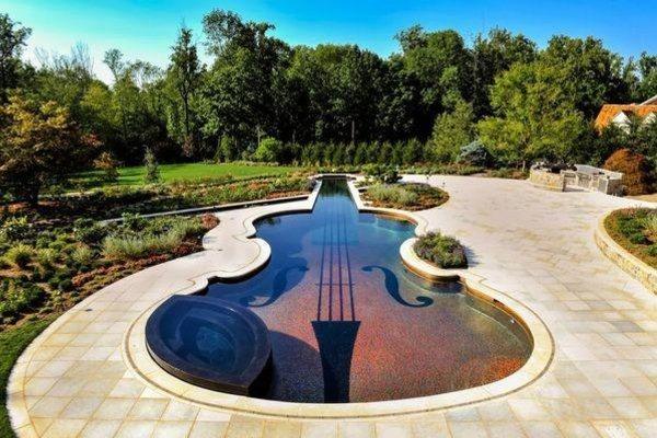дизайн бассейна в частном доме фото 12