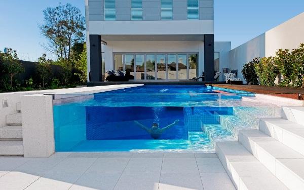 дизайн бассейна в частном доме фото 14
