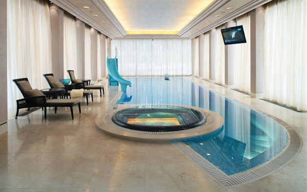 дизайн бассейна в частном доме фото 2