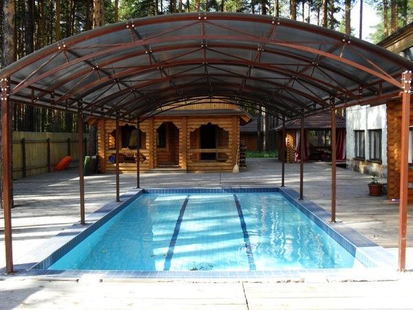 дизайн бассейна в частном доме фото 4