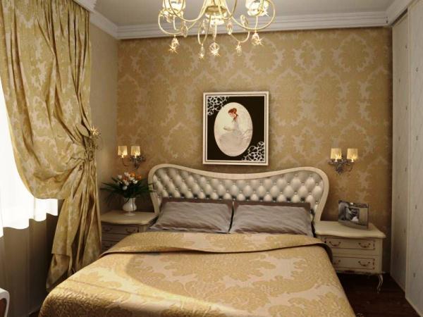 дизайн маленькой спальной комнаты фото