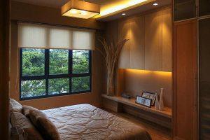 интерьер малогабаритной спальни фото 10