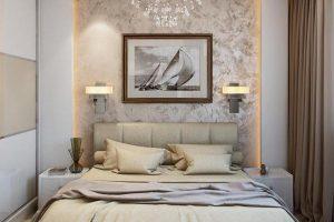 интерьер малогабаритной спальни фото 12