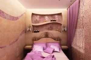 интерьер малогабаритной спальни фото 18