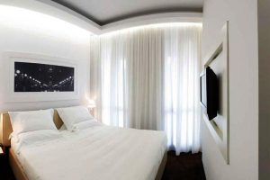 интерьер малогабаритной спальни фото 22