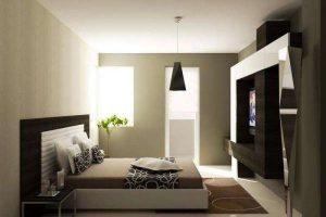 интерьер малогабаритной спальни фото 23