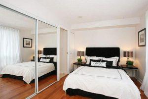 интерьер малогабаритной спальни фото 26