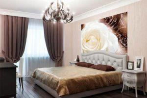 интерьер малогабаритной спальни фото 35