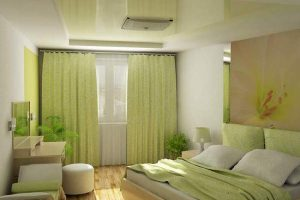 интерьер малогабаритной спальни фото 37