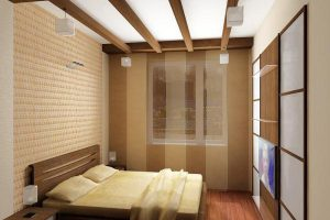 интерьер малогабаритной спальни фото 40