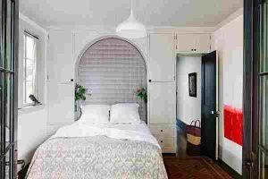 интерьер малогабаритной спальни фото 44