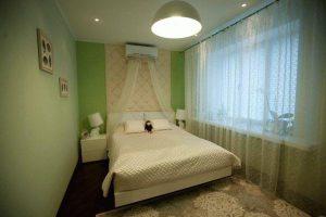 интерьер малогабаритной спальни фото 45
