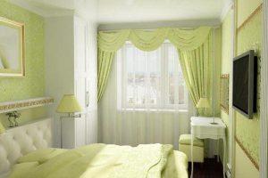 интерьер малогабаритной спальни фото 5