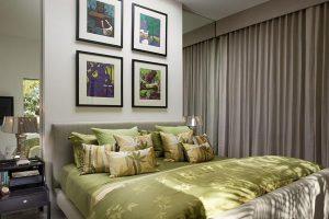 интерьер малогабаритной спальни фото 51