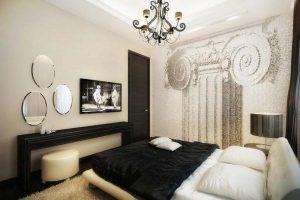 интерьер малогабаритной спальни фото 56