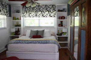 интерьер малогабаритной спальни фото 7