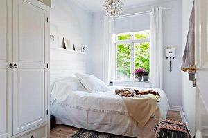 интерьер малогабаритной спальни фото 8