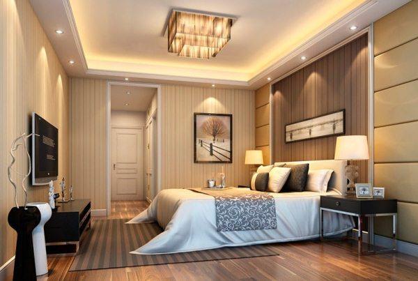 спальня по фен шуй расположение кровати фото 8