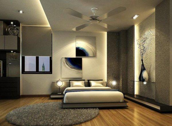 спальня по фен шуй расположение кровати фото 9