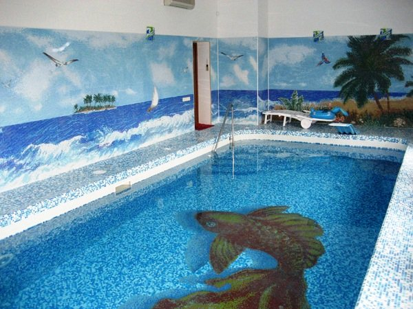 мозаика для бассейна фото 16