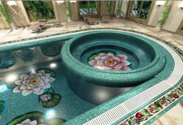 мозаика для бассейна фото 3